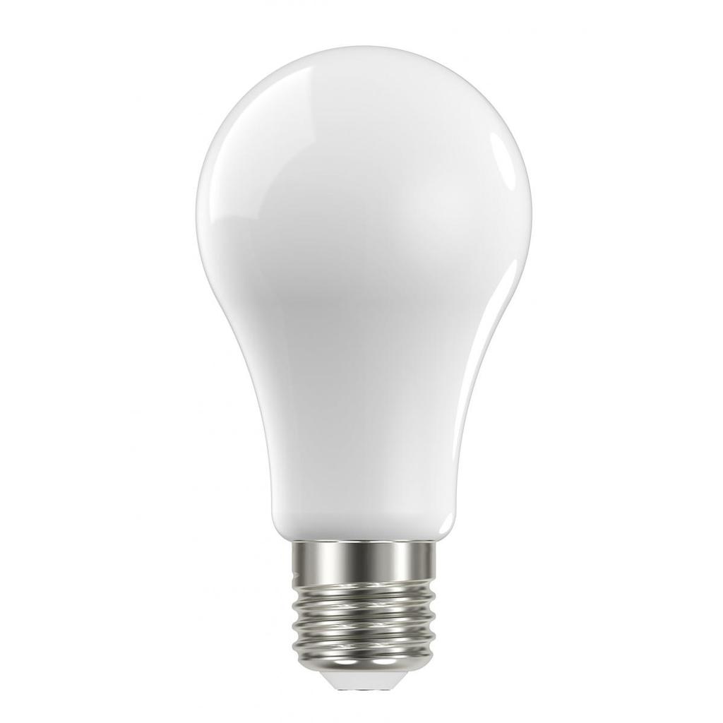 SAT S11509 13W A19 LED; FROSTED;MEDIUM BASE; 3000K; 120V; 4-PACK