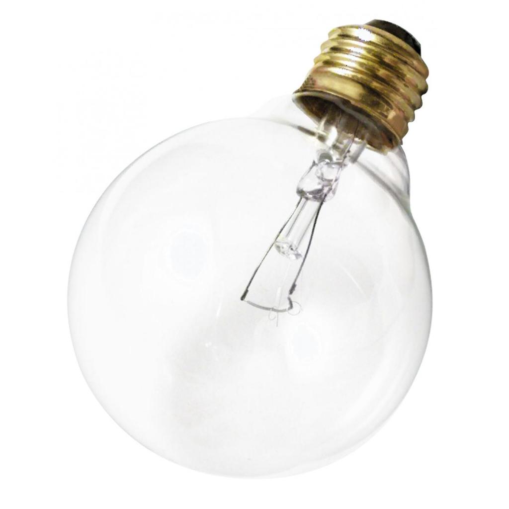 SATCO A3648 40 W 130 Volt 360 Lumen Clear E26 Medium Base G25 Decorative Incandescent Lamp