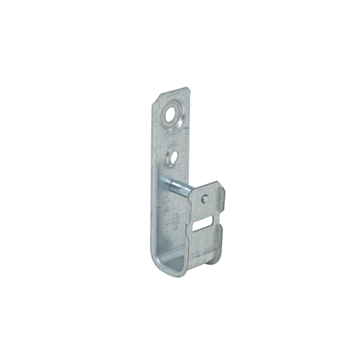 Mayer-1-5/16 in J cable support hooks are versatile and can be attached to a wide variety of structures using beam clamps clips and other support components available from Garvin. These support hooks eliminate the problem of point loads that can cause band width damage to sensitive cables such as fiber optic CAT 5E 6 7 or many others.-1