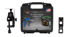 ^ Southwire XTC100 XT Cable Stripper Combo Kit Includes: (1) XTS-01 (1) XTS-02 (Mini) & Hard Case Strips #6 AWG -1000 KCMIL Wire Capacity (59894501)