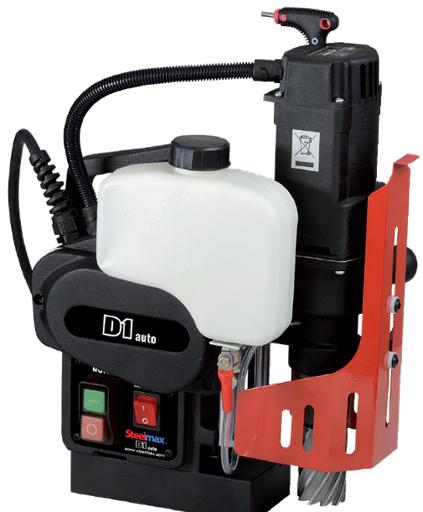 "Steelmax D1 Semi-Automatic Magnetic Drill 1-3/8"" x 2"" Capacity - 115V"