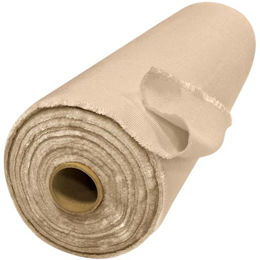 "ToughGuard™, 18 oz Heat Cleaned Tan Fiberglass Welding Blanket, 60""W x 50 yd Roll"