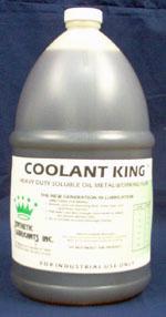Coolant King, Soluble Oil Lubricoolant, 55-Gallon Drum