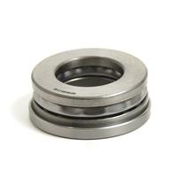 Thrust Ball Bearing, Metric, With Spherical Seating Ring, 45mm Bore Dia., 85mm Outside Dia., 33mm Width