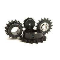 "Sprocket, A Plate, 1/2"" Pitch, 27 Hardened Teeth, 5/8"" Bore"