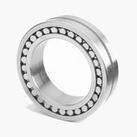 Spherical Roller Bearing, Staight Bore, Double Row, 25mm Bore Dia., 52mm Outside Dia., 18mm Width, Brass Cage