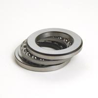 """Thrust Ball Bearing, Inch, 3 Piece, Grooved Raceways, 3.125"""" Bore Dia., 4.25"""" Outside Dia., 0.75"""" Width"""