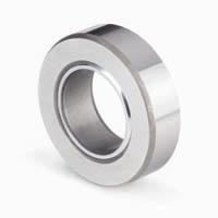 Spherical Plain Thrust Bearing, Angular Contact, Metric, 100mm Bore Dia., 150mm Outside Dia., 31mm Outer Ring Width