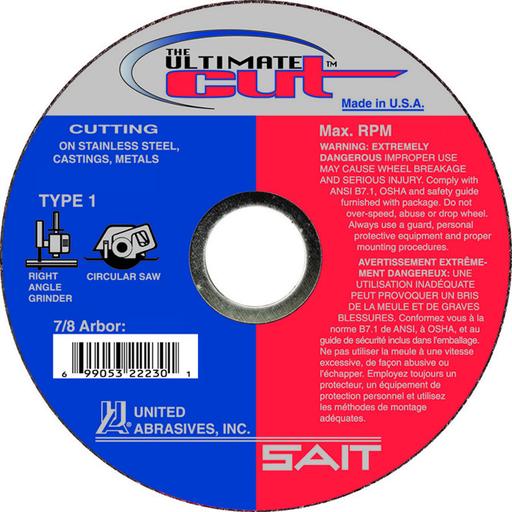 TM 4-1/2x.045x7/8 ULTIMATE CUT