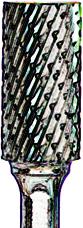 CARB BUR SA1 DC 1/4X5/8X1/4