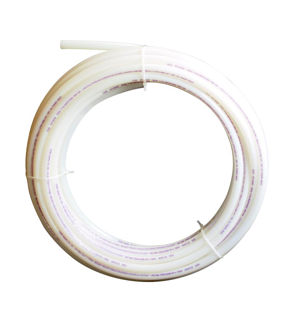 "1"" Uponor AquaPEX White, 500-ft. coil"