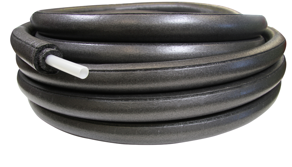 """1"""" Pre-insulated Wirsbo hePEX with 1/2"""" insulation, 100-ft. coil"""