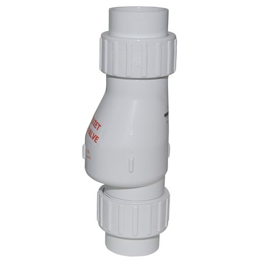 "1-1/2 PVC QUIET UNION CHK VLV (ZOE 30-0040  1-1/2"" QUIET CHECK)"