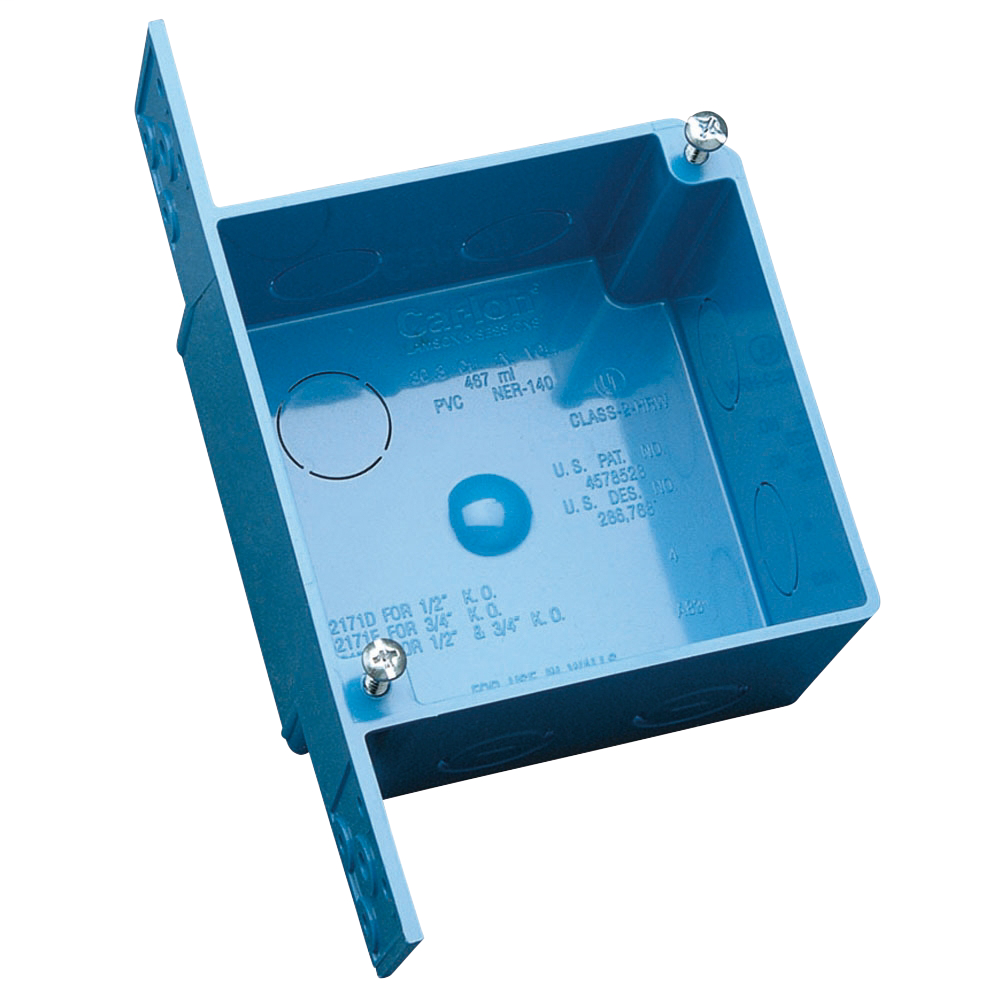 CL A5217DE 4INX4INX2-3/8IN ENT BOX.
