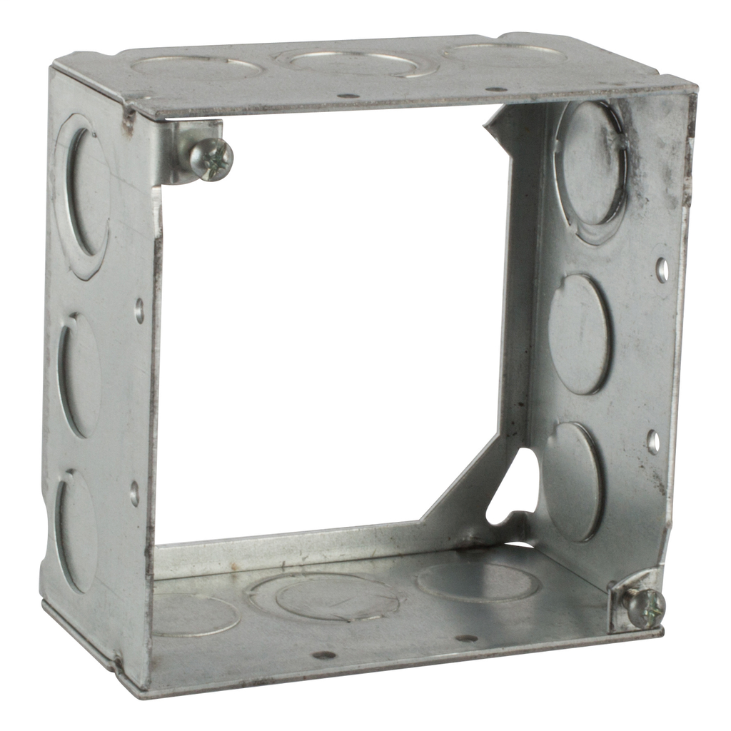 Steel City 531711234 4 x 2-1/8 Inch Steel Electrical Box