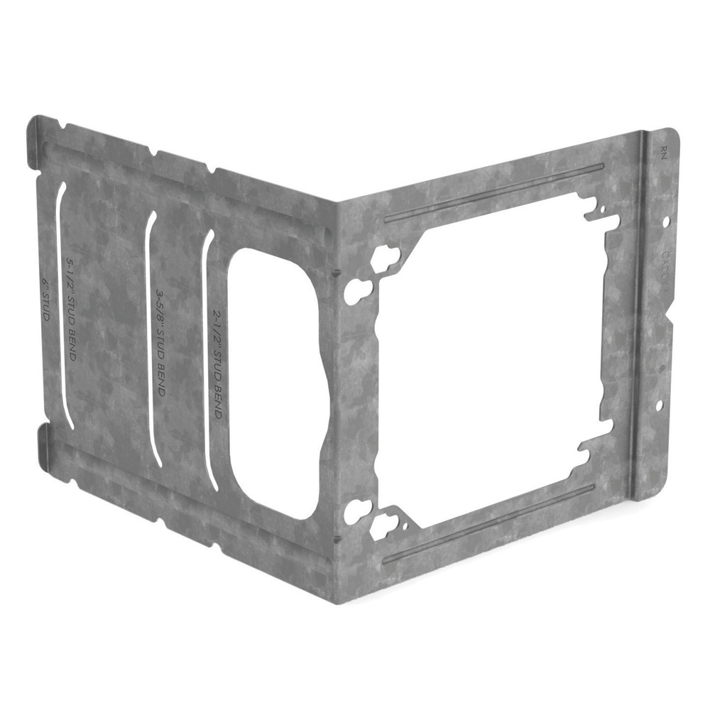 "Mayer-C Series Electrical Box Bracket to Stud, 2 1/2"", 3 5/8"", 5 1/2"", 6"" Wall Depth, 5.89""-1"
