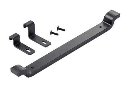 Mayer-Movable Cross Member, fits 12.00, Black, Steel-1