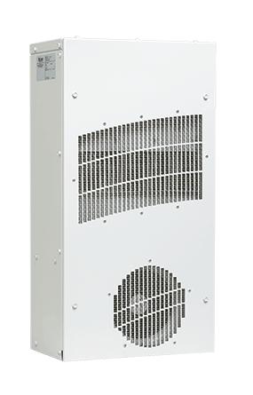 Hoffman TX231416100 12 x 7.1 x 23 Inch 0.6 Amp 115 VAC Steel Heat Exchanger