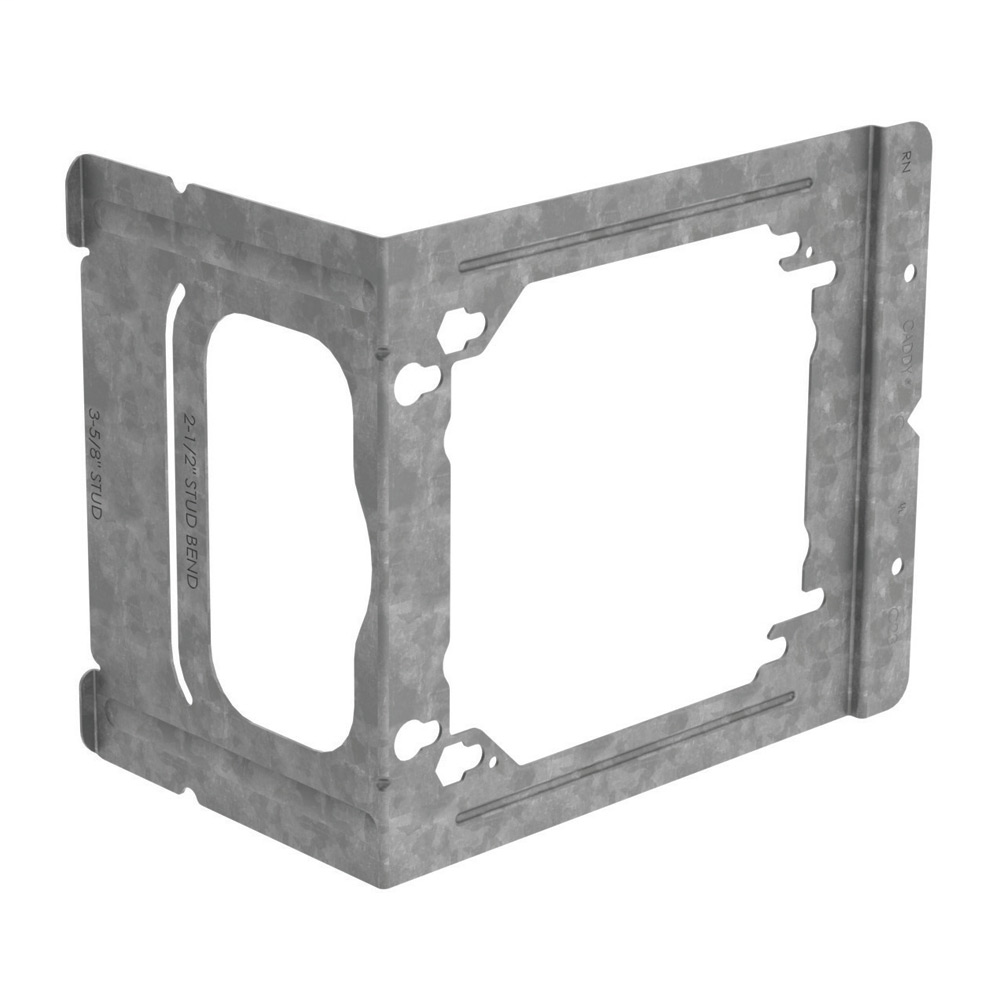 "Mayer-C Series Electrical Box Bracket to Stud, 2 1/2"", 3 5/8"" Wall Depth, 3.51""-1"