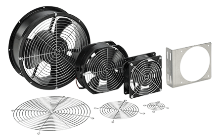 Hoffman A4AXFN24 24 VDC Compact Axial Fan