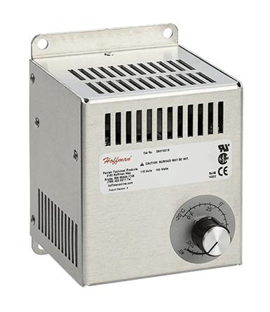 Hoffman DAH2001A 1.89 Amp 115 Volt 200 W Brushed Aluminum Electric Heater