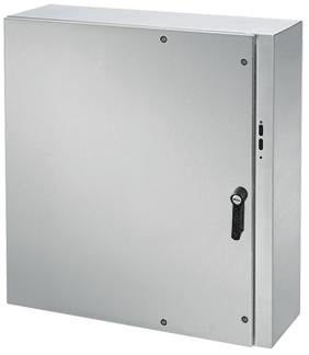 Hoffman CDSC423812SSR 42 x 38 x 12 Inch 14 Gauge 304 Stainless Steel NEMA 4X Wall Mount Disconnect Enclosure
