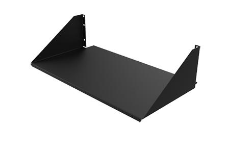 Hoffman ESH19S 4.85 x 19 x 10.5 Inch 3-Unit Solid Steel Single Sided Enclosure Shelf