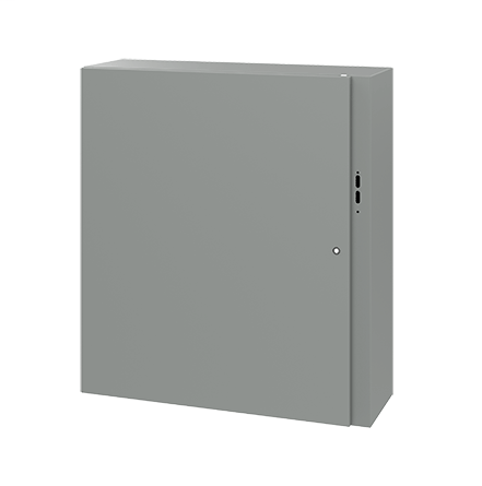 Hoffman CDSC423812 42 x 38 x 12 Inch Gray 14 Gauge Steel NEMA 4 Wall Mount Disconnect Enclosure