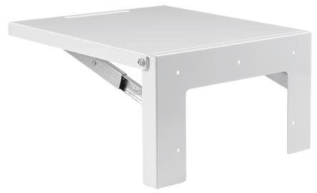 Hoffman AA61SHLF1218 12 x 18 Inch Gray Steel Large Folding Shelf