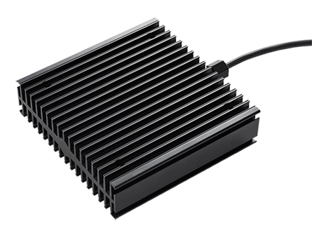 Hoffman DAHHL200AC 110 to 265 VAC/VDC 200 W Aluminum Location Heater