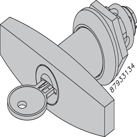 Hoffman ALTC3R Steel Locking T-Handle