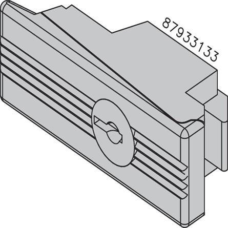 NVENT HOF ATCL Disc Tumbler Lock