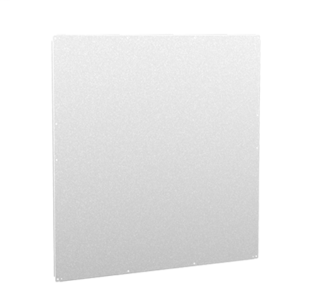 Hoffman A84PM78G 72 x 72 Inch Galvanized Steel Enclosure Panel