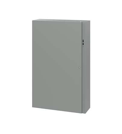 Hoffman CDSC603812 60 x 38 x 12 Inch Gray 14 Gauge Steel NEMA 4 Wall Mount Disconnect Enclosure