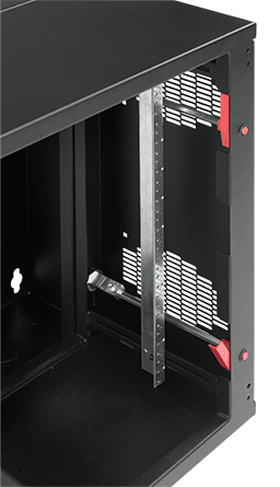 Hoffman EWMR36T Accessplus 36 Inch Tapped Plate Rack Angle