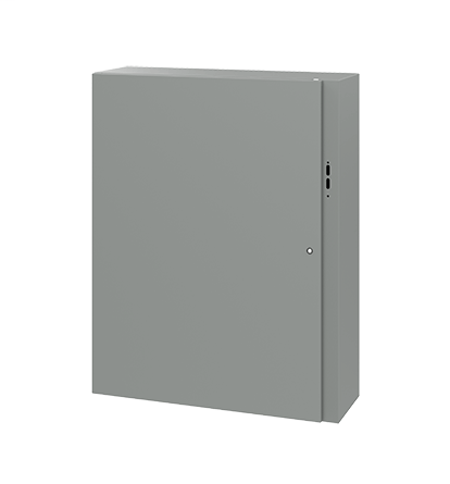 Hoffman CDSC483812 48 x 38 x 12 Inch Gray 14 Gauge Steel NEMA 4 Wall Mount Disconnect Enclosure