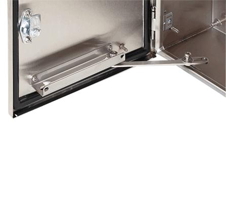 Hoffman ADSTOPKSS6 316 Stainless Steel Door Stop Kit