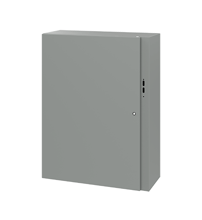 Hoffman CDSC423212 42 x 32 x 12 Inch Gray 14 Gauge Steel NEMA 4 Wall Mount Disconnect Enclosure