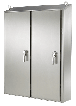 Hoffman WS62XM6318SS 62 x 63 x 18 Inch Stainless Steel Free Standing Disconnect Enclosure