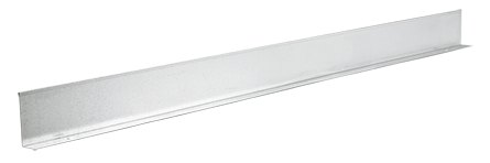 Divider Strip, 6.00x1.00x60.00, Lt Gray, Steel