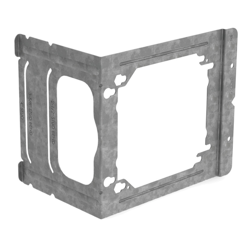 "Mayer-C Series Electrical Box Bracket to Stud, 2 1/2"", 3 5/8"", 4"" Wall Depth, 3.89""-1"