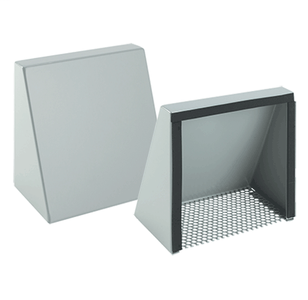 Mayer-Fan Shroud Kits, Type 3R, fits 6in fan, Steel-1