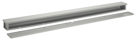 Wiring Trough, NEMA Type 3R, 14.00x14.00x116.00, Steel