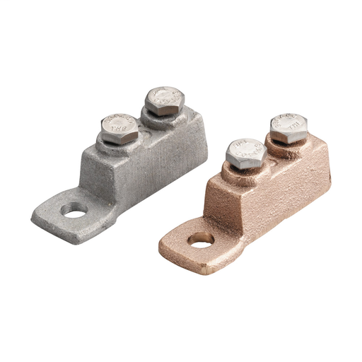 Mayer-Cast Secondary Bonding Lug, Aluminum, Bare-1