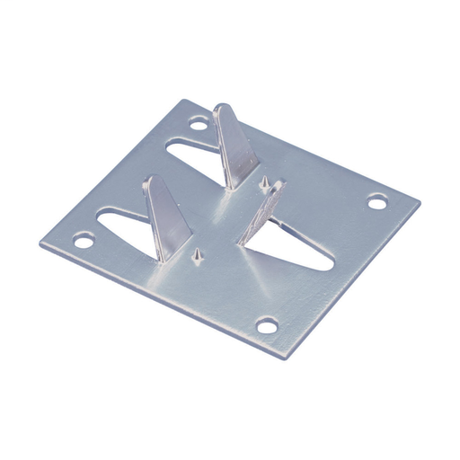 Crimp Bonding Plate, Aluminum, 3 in² Min Contact Area