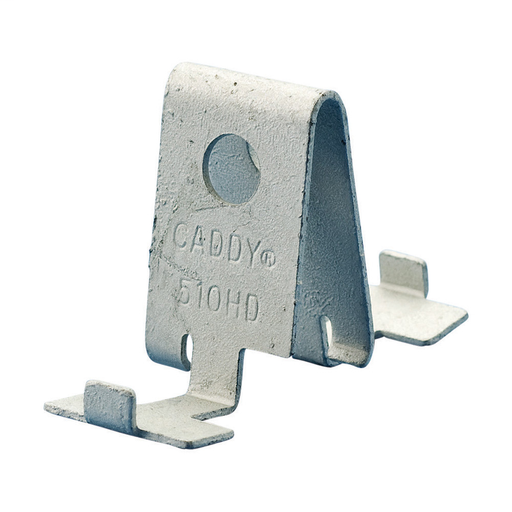 Mounting Clip for Heavy Duty T-Grid Box Hanger, Spring Steel, CADDY ARMOUR