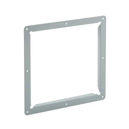 Panel Adapter, 2.50x2.50, Gray, Steel