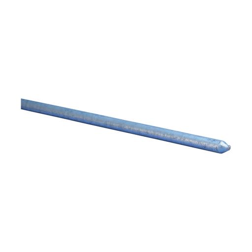 "Mayer-Galvanized Ground Rod, Pointed, 1/2"" dia, 6'-1"