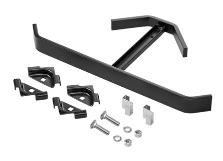 Corner Support Bracket Kit, Black, Steel