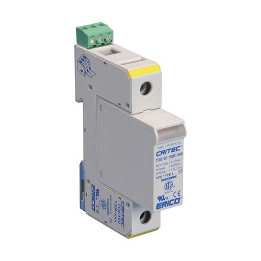 Transient Discriminating Surge Diverter, 50 kA Single Mode, 120-150 VAC Un